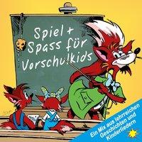 Spiel + Spass für Vorschulkids: Ein Mix aus lehrreichen Geschichten und Kinderliedern - Peter Huber