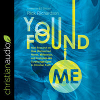 You Found Me - Rick Richardson