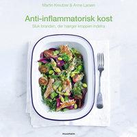 Anti-inflammatorisk kost - Sluk branden, der hærger kroppen indefra - Anne Larsen, Martin Kreutzer