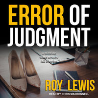 Error of Judgment - Roy Lewis