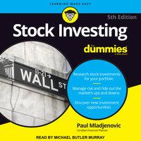 Stock Investing For Dummies - Paul J. Mladjenovic