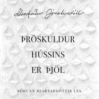 Þröskuldur hússins er þjöl - Arnfríður Jónatansdóttir