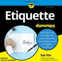Etiquette For Dummies - Sue Fox