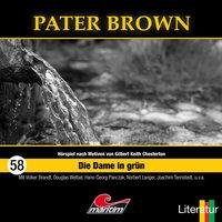Pater Brown - Folge 58: Die Dame in Grün - Tom Balfour, Henner Hildebrandt