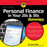 Personal Finance in Your 20s and 30s For Dummies - Eric Tyson