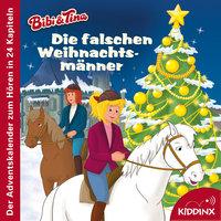 Bibi & Tina: Die falschen Weihnachtsmänner (Der Adventskalender zum Hören) - Michaela Rudolph