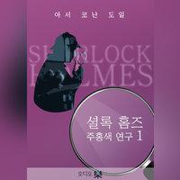 셜록 홈즈_주홍색 연구 1 - 아서 코난 도일