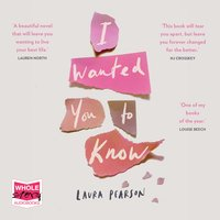 I Wanted You to Know - Laura Person