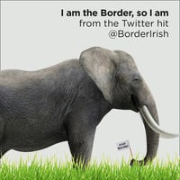 I Am the Border, So I Am - @BorderIrish