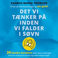 Det vi tænker på inden vi falder i søvn - Rasmus Barud Thomsen