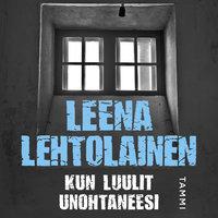 Kun luulit unohtaneesi - Leena Lehtolainen