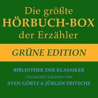 Die größte Hörbuch-Box der Erzähler: Grüne Edition