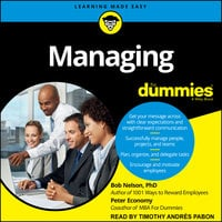 Managing For Dummies - Bob Nelson, Peter Economy