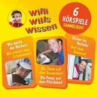 Willi wills wissen - Sammelbox 1: Folgen 1-3 - Florian Fickel, Jessica Sabbasch