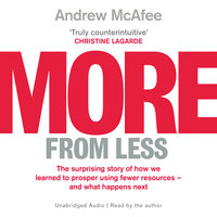 More From Less - Andrew McAfee