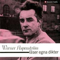 Werner Aspenström läser egna dikter - Werner Aspenström