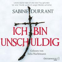 Ich bin unschuldig - Sabine Durrant