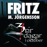 Þrír dagar í október - Fritz Már Jörgensson