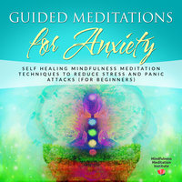 Guided Meditations for Anxiety: Self Healing Mindfulness Meditation Techniques to reduce Stress and Panic Attacks (for Beginners) (Guided Meditations and Mindfulness Book 1) - Mindfulness Meditation Institute