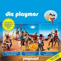 Die Playmos - Folgen 21, 32, 35: Die große Cowboy- und Indianer-Box - Florian Fickel, David Bredel