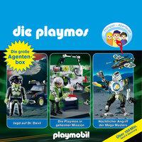 Die Playmos - Folgen 19, 23, 31: Die große Agenten-Box - Simon X. Rost, Florian Fickel