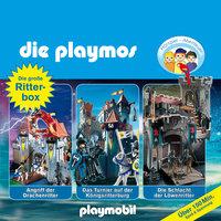 Die Playmos - Folgen 2, 8, 20: Die große Ritter-Box - Simon X. Rost, Florian Fickel