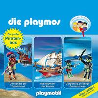 Die Playmos - Folgen 1, 16, 22: Die große Piraten-Box - Simon X. Rost, Florian Fickel, Rudolf K. Wernicke