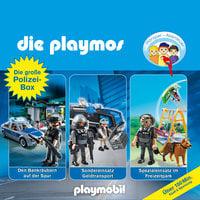 Die Playmos - Folgen 28, 41 & 44: Die große Polizei-Box - Simon X. Rost, Florian Fickel