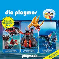 Die Playmos - Folgen 13, 38, 50: Die große Drachen-Box - Simon X. Rost, Florian Fickel
