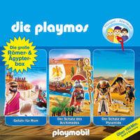 Die Playmos - Folge 5, 18, 52: Die große Römer- und Ägypterbox - Simon X. Rost, Florian Fickel