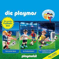 Die Playmos - Folgen 7, 51, 60: Die große Fussball-Box - Simon X. Rost, Florian Fickel, David Bredel
