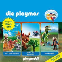 Die Playmos - Folgen 3, 17, 30: Die große Dino-Box - Simon X. Rost, Florian Fickel, David Bredel