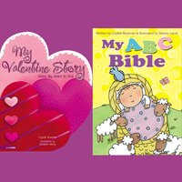 My ABC Bible and My Valentine Story - Crystal Bowman