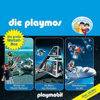 Die Playmos - Folgen 29, 36, 48: Die große Weltall-Box - Simon X. Rost, Florian Fickel