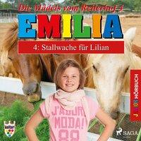 Emilia, Die Mädels vom Reiterhof - 4: Stallwache für Lilian - Karla Schniering