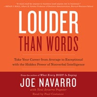 Louder Than Words - Joe Navarro, Toni Sciarra Poynter