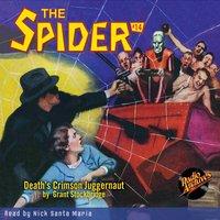 The Spider #14 Death's Crimson Juggernaut - Grant Stockbridge