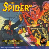 The Spider #75 Satan's Murder Machines - Grant Stockbridge
