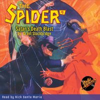 The Spider #9 Satan's Death Blast - Grant Stockbridge