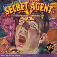 Secret Agent X # 2 The Spectral Strangler - Brant House