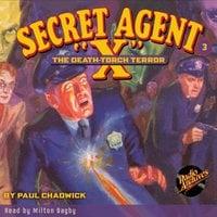Secret Agent X # 3 The Death-Torch Terror - Brant House