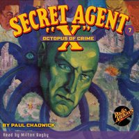 Secret Agent X # 7 Octopus of Crime - Brant House