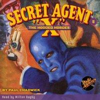 Secret Agent X # 8 The Hooded Hordes - Brant House