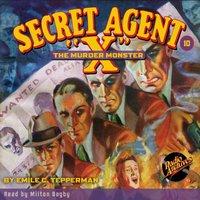 Secret Agent X #10 The Murder Monster - Brant House