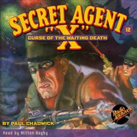 Secret Agent X #12 Curse of the Waiting Death - Brant House