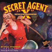 Secret Agent X #13 Devil's of Darkness - Brant House