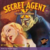 Secret Agent X #14 Talons of Terror - Brant House