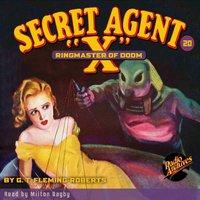 Secret Agent X #20 Ringmaster of Doom - Brant House