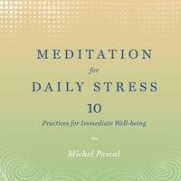 Meditation for Daily Stress: 10 Practices for Immediate Well-Being - Michel Pascal