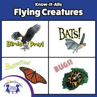 Know-It-Alls! Flying Creatures - Christopher Nicholas, Roger Generazzo, Bendix Anderson, Darlene Freeman